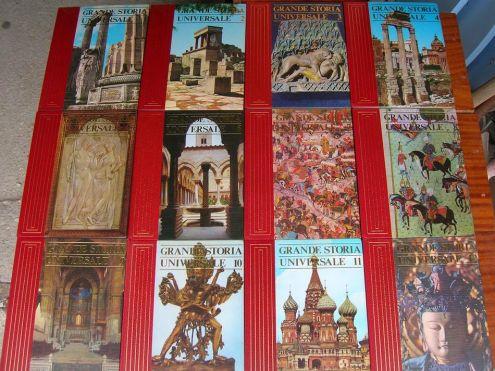 GRANDE STORIA UNIVERSALE ARMANDO CURCIO EDITORE 20 VOLUMI ANNO 1977 altezza … - Foto 2