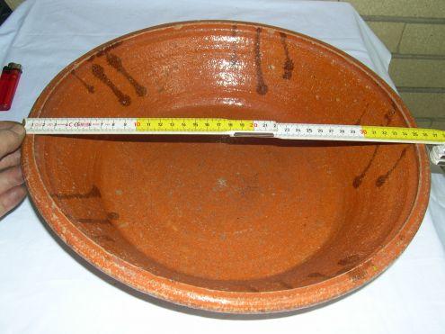 Terracotte antiche - Piatto ciotola e alzata in terracotta antica