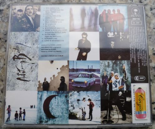 U2 - Achtung Baby Cd originale - Foto 2