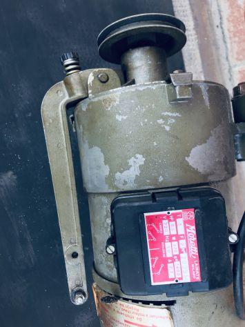 Motore usato monofase macchina cucire industriale - Foto 2