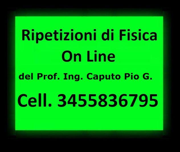 RIPETIZIONI DI FISICA ON LINE PRIMA LEZIONE GRATUITA