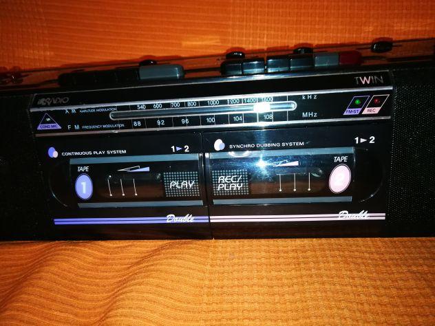 Stereo portatile Irradio anni 80-90, - Foto 3
