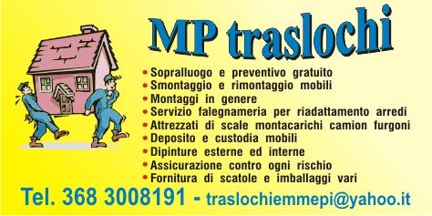 TRASLOCHI--DEPOSITO E CUSTODIA MOBILI MP VE