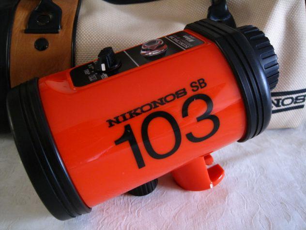 Nikonos V Flash SB103 e accessori x fotografia subacquea - Foto 3