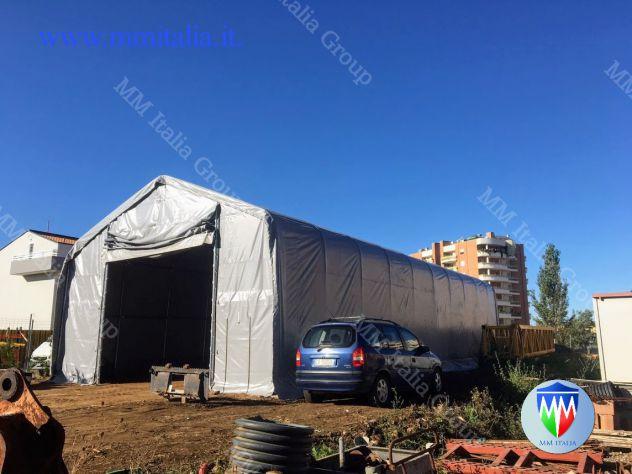 Tendoni Tunnel per Stoccaggio merci, cereali, agricoltura,Edilizia - Foto 8