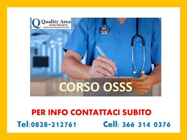 Corso OSSS (Operatore Socio Sanitario Specializzato)