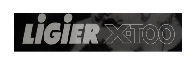 0083636 ADESIVO LOGO PARAURTI LIGIER X-TOO