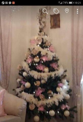 Alberi Di Natale Addobbati Foto.Albero Di Natale Addobbato