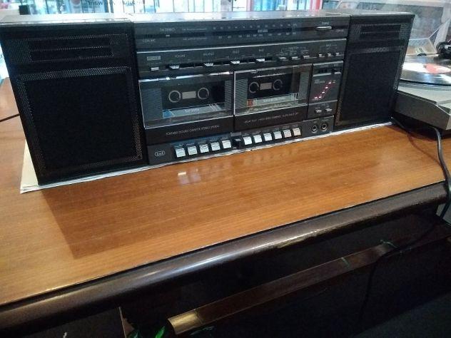 Radio registratore Trevi 9623 ingresso giradischi RIAA e casse audio Majestick