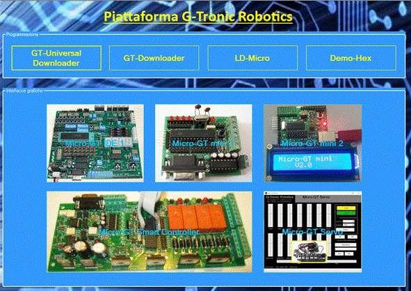 Micro-GT mini scheda programmazione PIC 16F876A - Foto 2