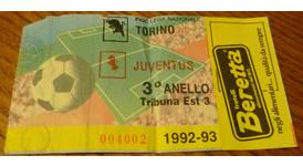 Biglietto Torino-Juventus 1992-93