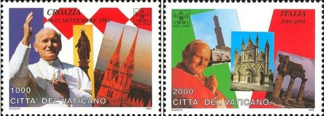 Francobolli nuovi annata 1995 Vaticano - Foto 4