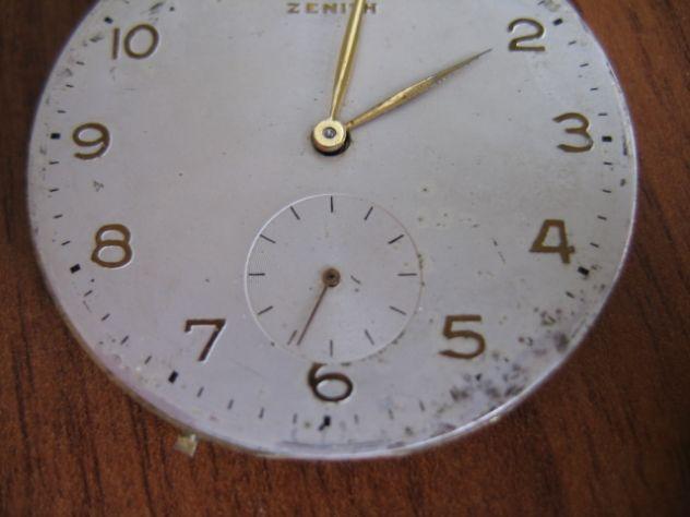 Orologio da Tasca Taschino Cipolla ZENITH Oro 18 K - Primi '900 - Foto 4