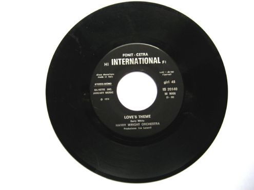 45 giri del 1974-Harry Wright orchestra-Love 's theme - Foto 2