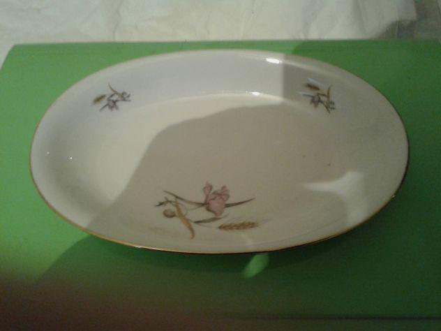 Piattino ovale porcellane fine de boheme