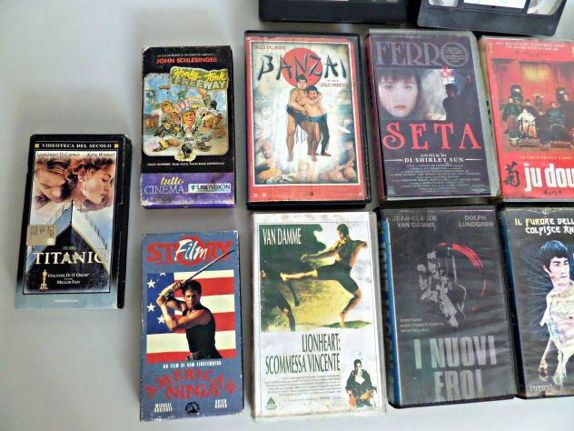 VHS vari  lotto misto  Originali d'epoca. TESTATI (INTERO LOTTO) - Foto 9