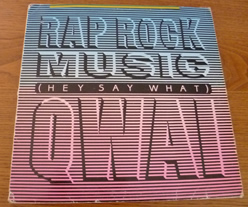 Rap rock music - hey say what 45 maxi single