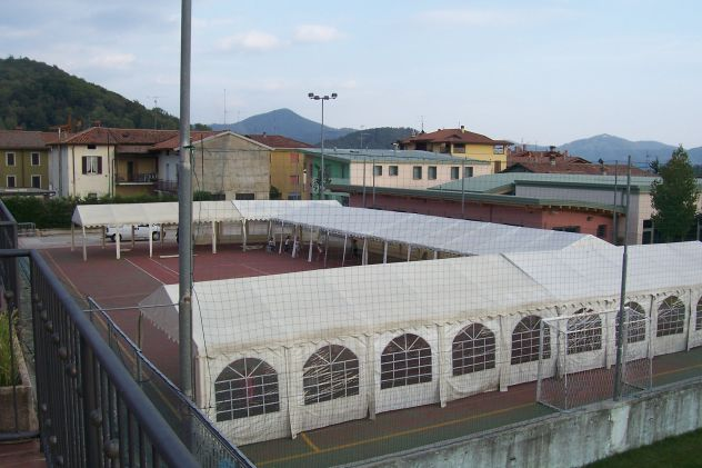 MM Italia Linea Platino Tendoni, Tenso 3 x 6 Pvc Ignifugo uso Pubblico - Foto 4