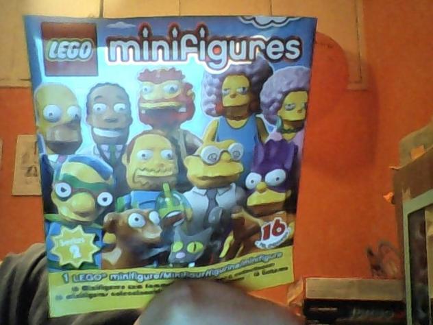 Scambio lego minifigures simpson Euro 1