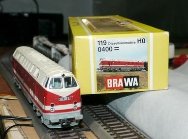 BRAWA art.400 Br119.006-5 crema-Rosso con decoder sound