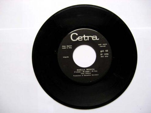 Vinile 45 giri del 1969-New Trolls-davanti agli occhi miei - Foto 3