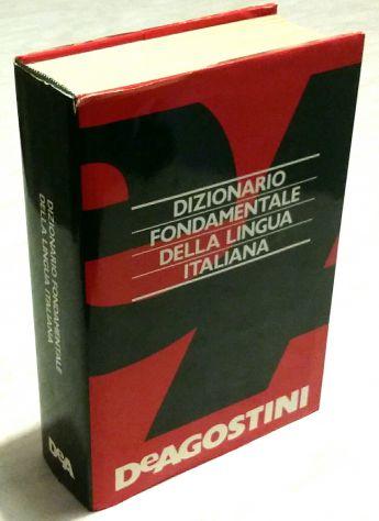 Dizionario Fondamentale della lingua Italiana Sandron De Agostini,1994 come nuov
