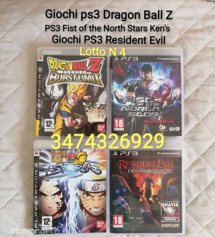 GIOCHI PS3 DRAGON BALL Z