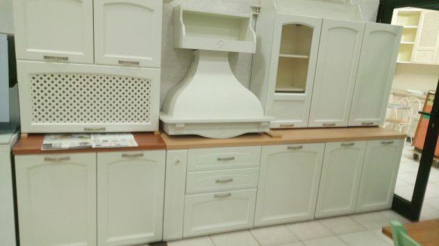 Cucina comp. stock 246 expo mod. Carmen bianca