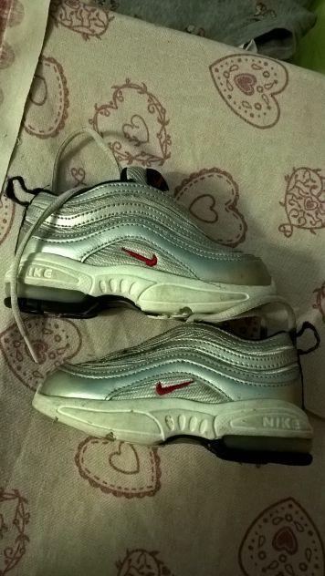 scarpe nike air max tg 22.5 usate bambino originali