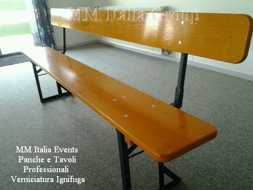 100 set panche e tavoli pieghevoli professionali per sagre noleggio - Foto 6