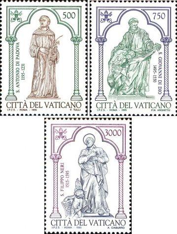 Francobolli nuovi annata 1995 Vaticano - Foto 8