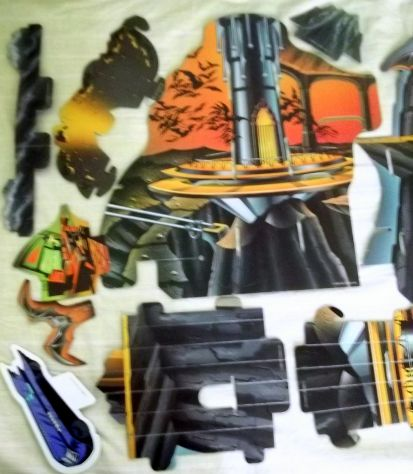 Batman the animated series 3D board game Parker. Raro. - Foto 4