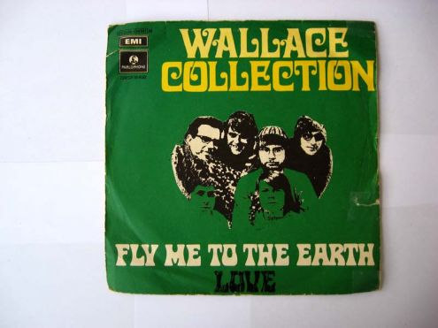 45 giri del 1969-Wallace Collection-fly to the earth