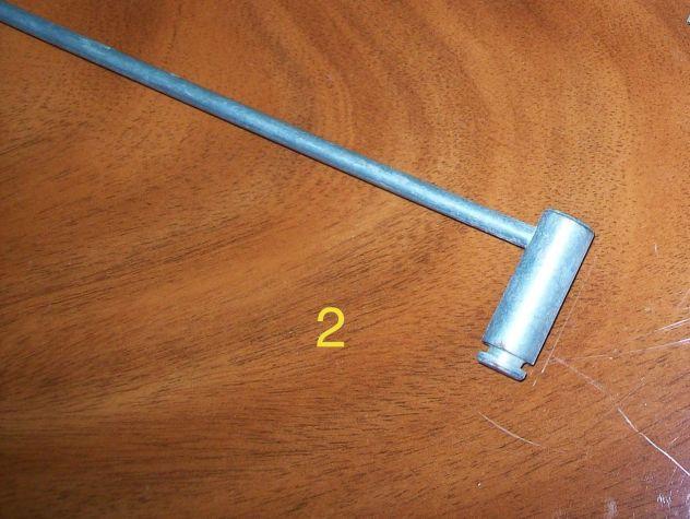Aste acciaio zincato blocca tapparelle avvolgibili