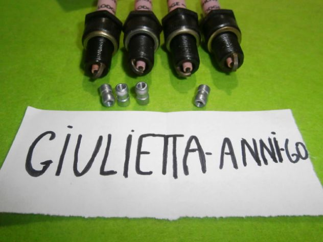 Candele Alfa Giulietta ti e giulia 1a serie Lodge 2hlny NUOVE Spark Plug Alfa - Foto 6