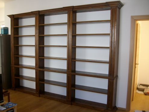 libreria in legno antico su misura annunci padova
