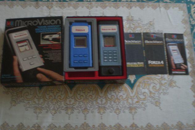 Giochi elettronici vintage anni 80 CREATIVISION MICROVISION CASIO SOCC - Foto 3