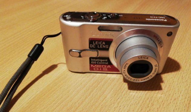 Fotocamera Panasonic Lumix DMC-FX10 color argento