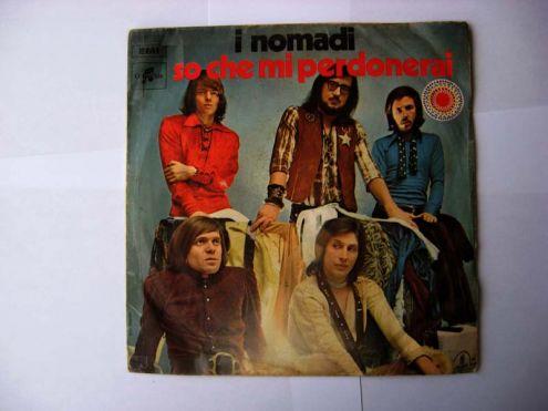 45 giri del 1971-I Nomadi-so che mi perdonerai