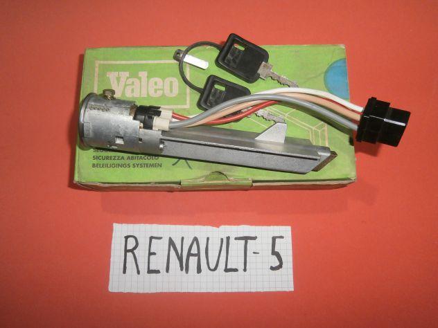 Blocchetto commutatore accensione Renault 5 Alpine L TL GTL Valeo 252224 &q … - Foto 3