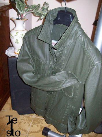 Giubbotto giubbottino giubbino giacca VeraPelle 50