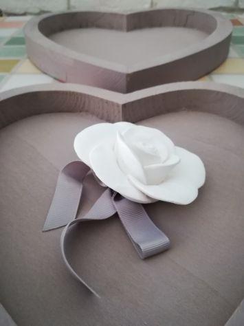 3 Vassoi decorativi a forma di cuore - Foto 3