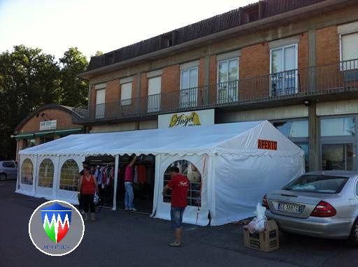 Verande Tendoni per Bar e Ristoranti 4 x 10 x 2,6 mt a Brescia - Foto 6