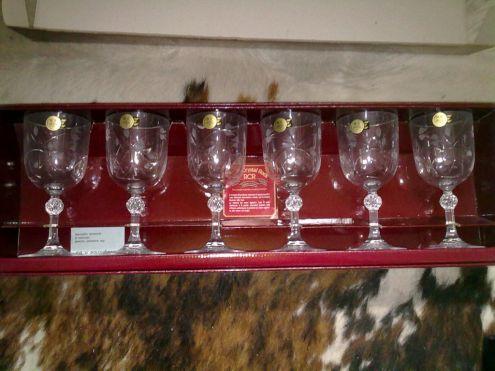 Servizio di bicchieri in cristallo da 12 persone