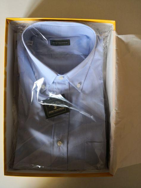 Camicia azzurra da uomo taglia 43