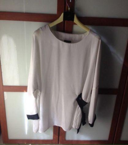 Maglietta lunga bianca