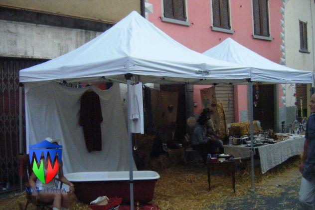 Noleggi in Nord Italia Tendoni Gazebo 4 x 8 pvc ignifugo - Foto 4