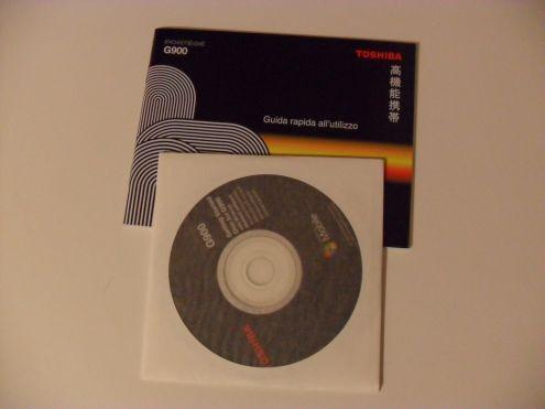 Toshiba Portege G900 - Guida rapida e CD originale
