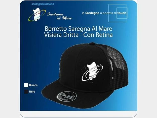 Vari tipi di Berretto Logo SardegnaAlMare