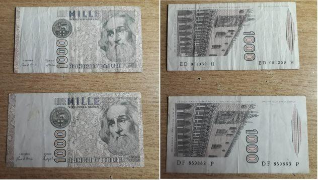 Lotto di Banconote Italiane e Monete Europee.